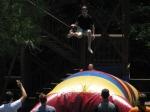 Chris Brittingham flying off the Blob!